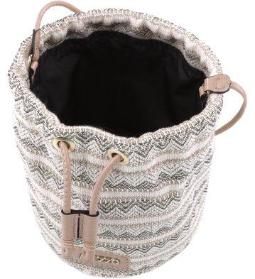 Bolsa Bucket Férias Ethnic Bege