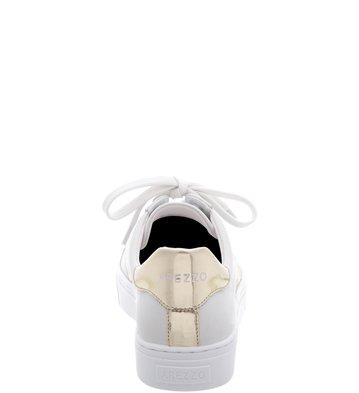 Tênis Couro Platino Stripe Blanc