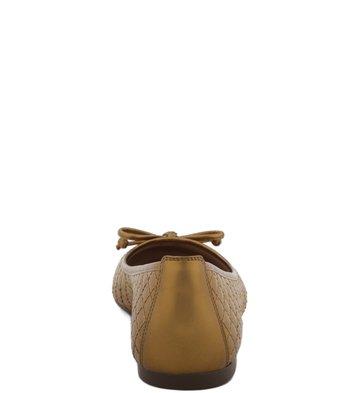 Sapatilha Matelassê Bronze