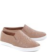 Slip-on Bordado Romantic Pelle