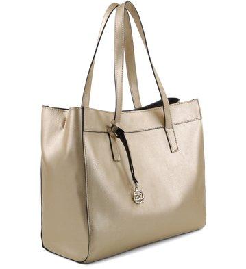 Bolsa Shopping Minimal Ouro