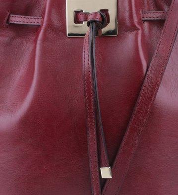 Bolsa Bucket Clarice Vinho