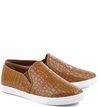 Slip-on Croco Camel