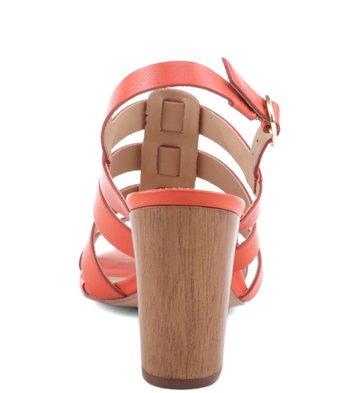Sandália Salto Wood Mandarim