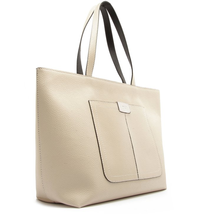 Bolsa Shopping Larissa Grande Off White