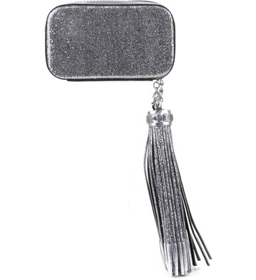 Clutch Lurex Prata