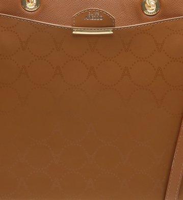 Bolsa Couro Shopping Grande Melina Monograma Marrocos