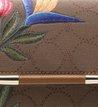 Bolsa Clutch Auguri Monograma Floral