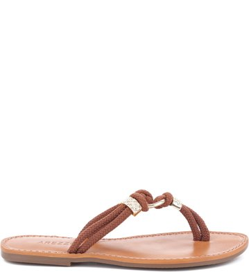 Rasteira Nautic Tan