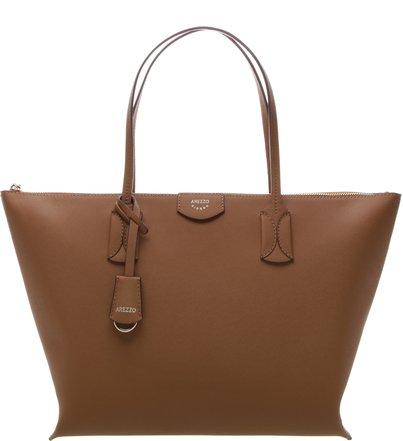 Bolsa Shopping Grande Firenze Camel ... 258f6b77b94