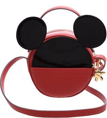 Disney x Arezzo | Bolsa Tiracolo Pequena Pop Vermelho