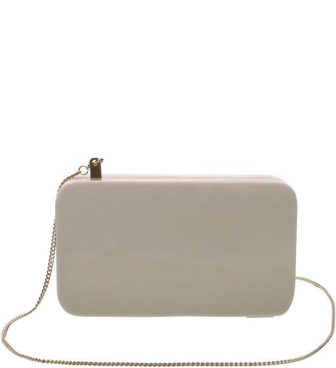 Clutch Pequena Katerinna Natural/Off White