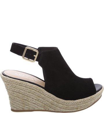 7ea38e00d0 Sandal Boot Plataforma Suede Preta