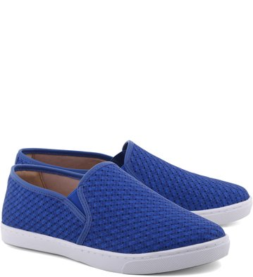 Slip-on Trama Mix New-Royal