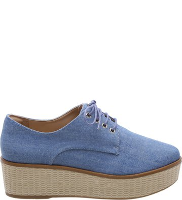 Oxford Palha Denim