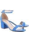 Sandália Pop Nobuck Blue-Wave
