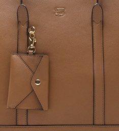 Bolsa Shopping Grande Envelope Castor