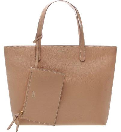 4499904fd Bolsa Shopping Grande Mercato Nude Crema