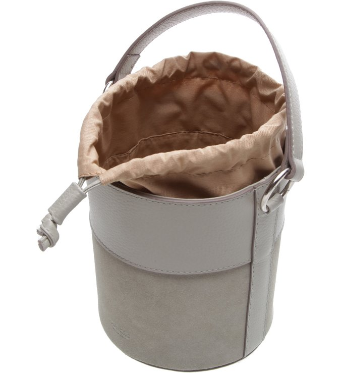 Bolsa Couro Tiracolo Pequena Nina Soft Mint