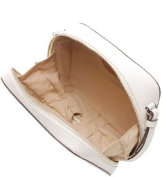 Bolsa Tiracolo Pequena Mazzatine Off White/Caramelo