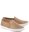 Slip-on Casual Dourado