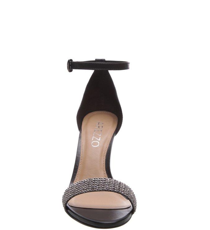 Sandália Multi Salto Médio Preta Onix
