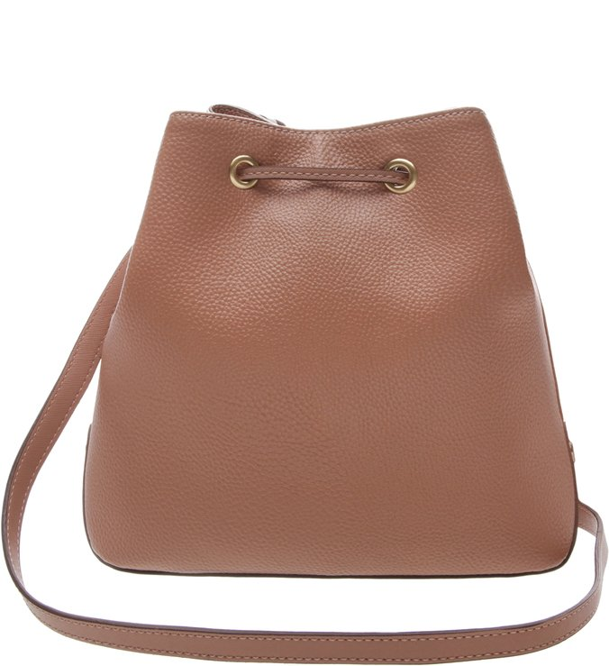 Bolsa Bucket Média Aline Dark Blush