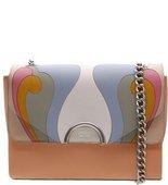 Bolsa Couro Tiracolo Grande Alessandra Multicolorido