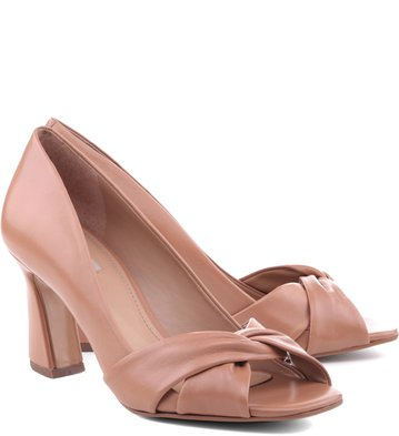 Peep Toe Torcido Blush