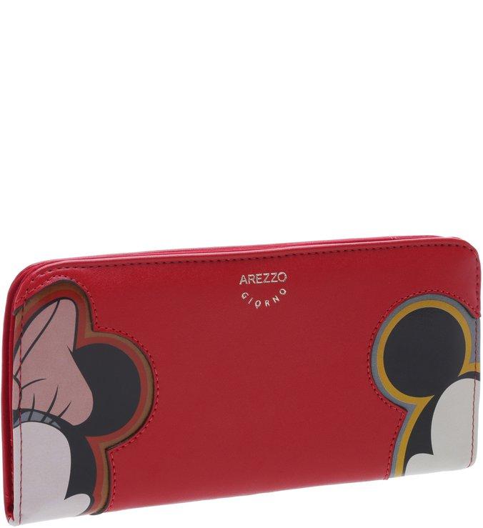 Disney   Carteira Grande Disney Vermelha