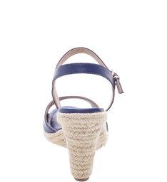 Sandália Espadrille Maxi Mykonos Blue