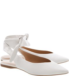 Sapatilha Lace Up Off White