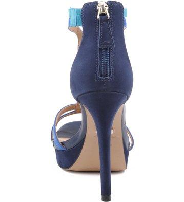 Meia-Pata Nobuck Azul