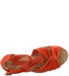 Anabela Lace-up Suede New-Apricot