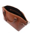 Bolsa Satchel City Tan