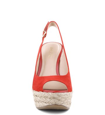 Espadrille The-One Camurça Flame
