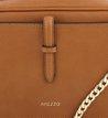 Bolsa Tiracolo Box Camel