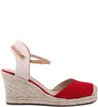 Espadrille Basic Suede Flame