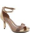 Sandália Glam Ouro