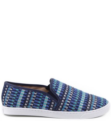 Slip-on Ethnic Pop Navy