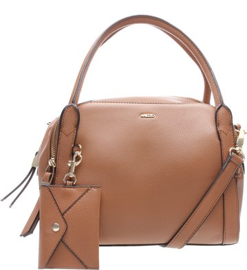 Bolsa Bowling Média Neutral Brown
