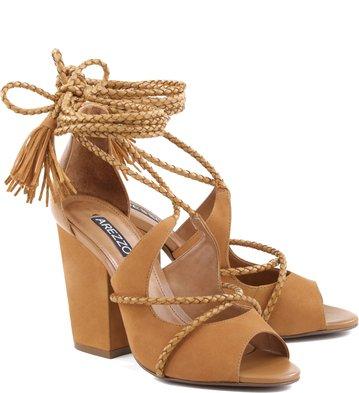 Sandália Chicote Camel