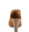 Sandália Camurça Camel