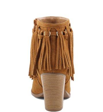 Bota Fringes Camel