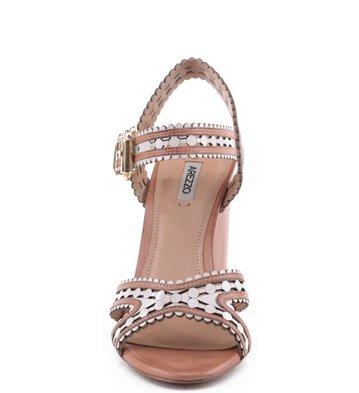 Sandália Recorte Laser Blush