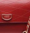 Bolsa Tiracolo Pequena Low Giulia Traços Batom Rouge
