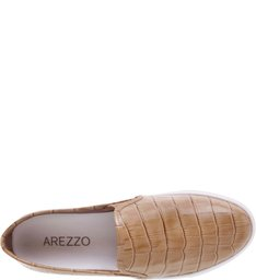 Tênis Slip On Croco Castor