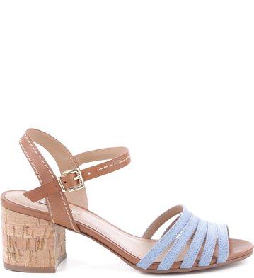 Sandália Tirinhas Light Jeans