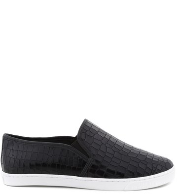 Slip-on Croco Preto