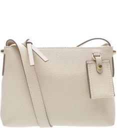 Bolsa Tiracolo Pequena Bag Charm  Off White